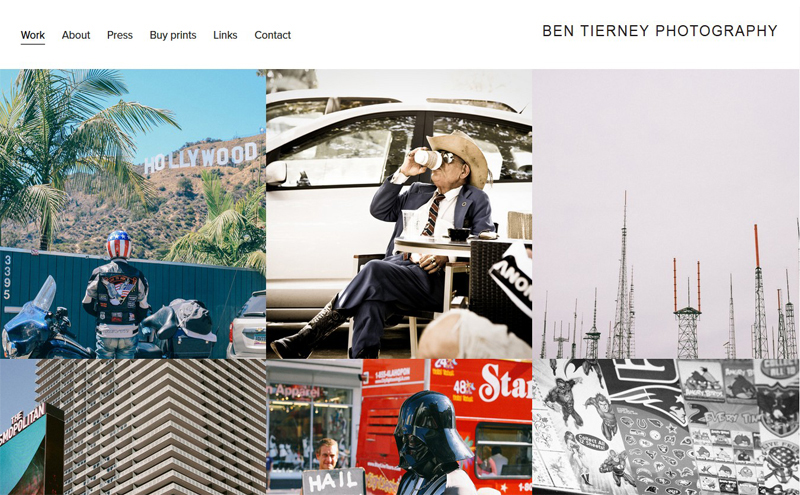 Best Photography Websites // Bentierney