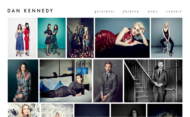 Best Photography Websites // Daniel Kennedy