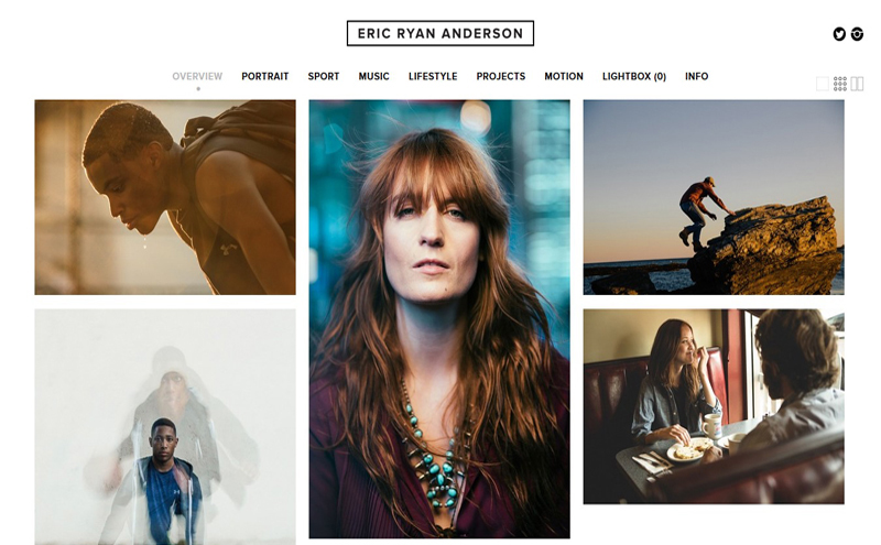 Best Photography Websites // Eric Ryan Anderson