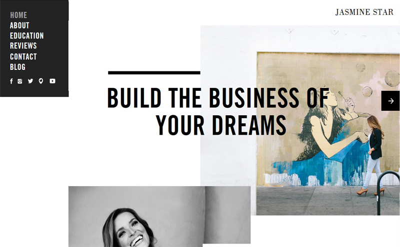 Best Photography Websites // Jasmine Star
