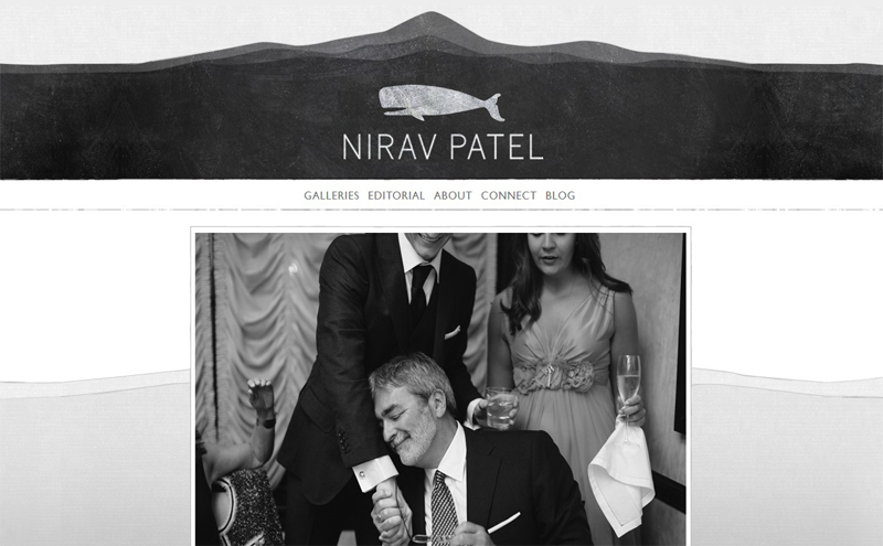 Best Photography Websites // Nirav Patel Photography