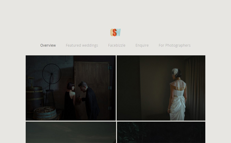 Best Photography Websites // Olisan Som Weddings
