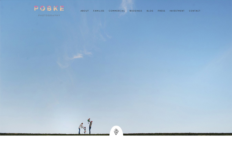 Best Photography Websites // Pobke Photography