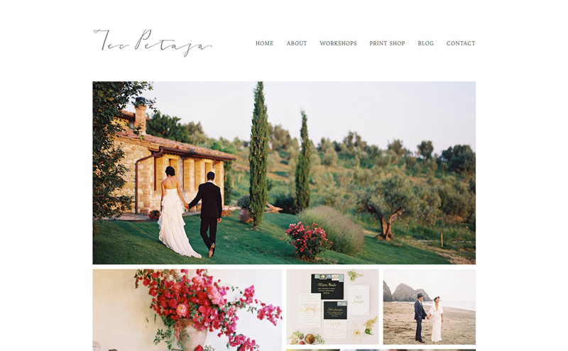 Best Photography Websites // Tec Petaja