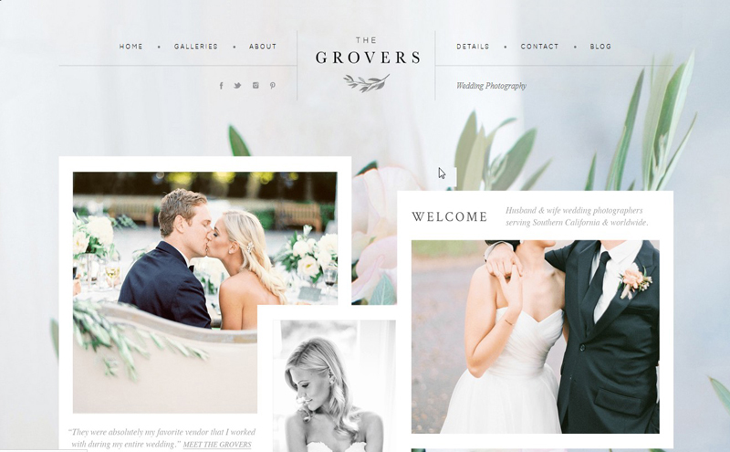 Best Photography Websites // Troy Grover