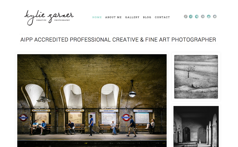 Best Photography Websites // Kylie Garner