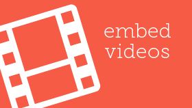 Embed Videos - WordPress Video Tutorials